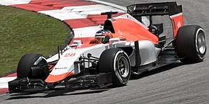 Will Stevens - Stevens driving for Marussia at the 2015 Malaysian Grand Prix