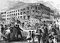 Willard Hotel - Franklin Pierce inauguration - Illustrated News - 1853.jpg