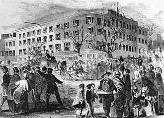 Peace Conference of 1861 - Washington DC's Willard's Hotel was the site of the unsuccessful 1861 Peace Conference.