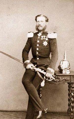 Princess Alexandrine of Prussia (1842–1906) - Alexandrine's husband Duke William.