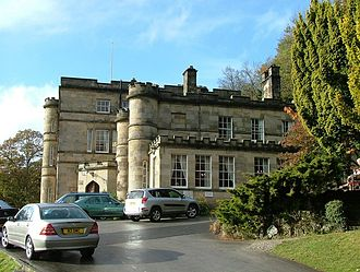 Willersley Castle - Willersley Castle today