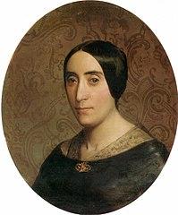 Portrait of Amelina Dufaud Bouguereau