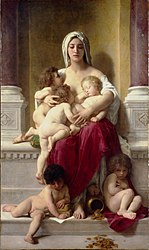William-Adolphe Bouguereau: Charity