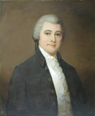 William Blount - Portrait of Blount by Washington B. Cooper