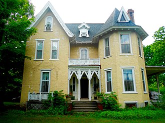 National Register of Historic Places listings in Centre County, Pennsylvania - Image: William Allison House (Spring Mills, Pennsylvania)