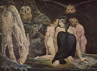 Hecate - The Triple Hecate, 1795. William Blake