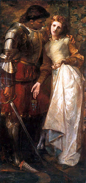 Laertes (Hamlet) - Laertes and Ophelia by William Gorman Wills.