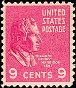 William Henry Harrison2 1938 Issue-9c