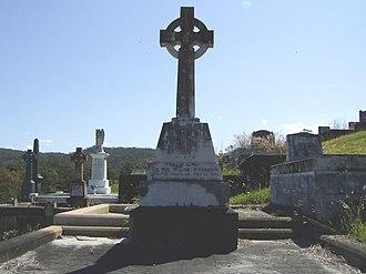 William McCormack - William McCormack's headstone at Brisbane's Toowong Cemetery