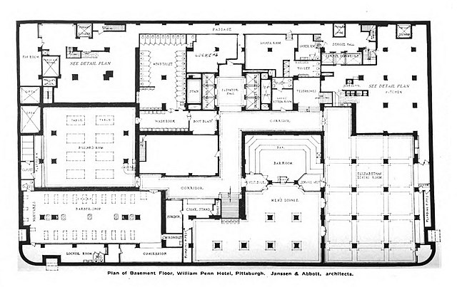 File William Penn Hotel Basement Floor Plan Jpg