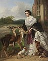 William Powell Frith - Feeding Time (My Lady's Pets) - 54.195 - Rhode Island School of Design Museum.jpg