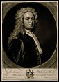William Stukeley. Mezzotint by J. Smith, 1721, after Sir G. Wellcome V0005648.jpg