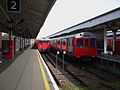 Wimbledon station tube platform 2 look north.JPG