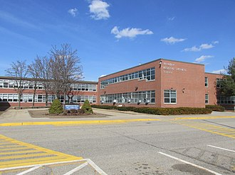 Windham Technical High School - Image: Windham Regional Technical School, Willimantic Ct
