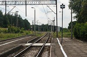 Poznań–Skandawa railway - Rail line 353 in Wipsowo