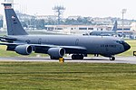 Wisconsin ANG KC-135R taxiing for spot. (9047868093).jpg