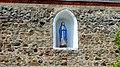 Wnęka z figurką w murze kościoła p.w. W.N. Marii Panny. - panoramio.jpg