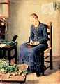 Woman Peeling Potatos, or Potato Peeler. 1886.jpg