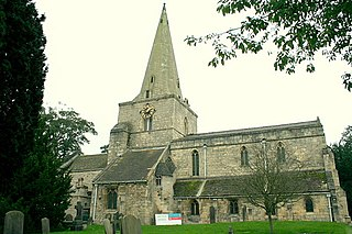 Womersley Village in North Yorkshire, England