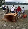 Woodcock Creek Lake partners to build porcupines cribs (9685955427).jpg