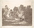 Wooded Landscape with Herdsmen and Cows MET DP104272.jpg