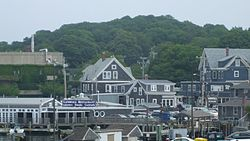 Skyline of Woods Hole, Massachusetts
