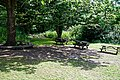 Woods Mill, Sussex Wildlife Trust, England - visitor picnic area.jpg