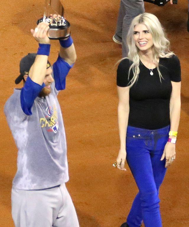 FileWorld Series MVP Ben Zobrist His Wife Julianna And