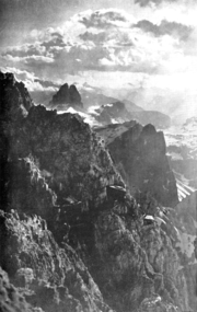 Austrian Positions on Rotwand summit