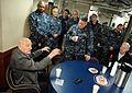 World War II veteran speaks to USS Ingraham crew members 141126-N-AI901-121.jpg