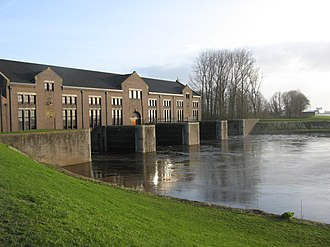 Wouda pumping station - Image: Woudagemaal sea side