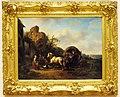 Wouterus Verschuur (1812-1874), De Pleisterplaats 1847, Olieverf op doek.JPG