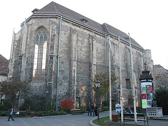 Wiener Neustadt - Church of St. Peter an der Sperr, as the City Museum.