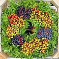 Wreath at the market in Hauptmarkt - Nuremberg, Germany - - Nuremberg, Germany - DSC01786.jpg