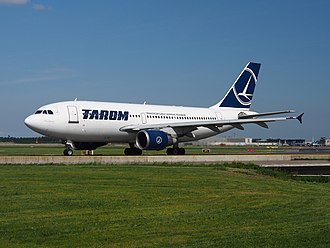 TAROM - Airbus A310-300 at Schiphol Airport in 2014.