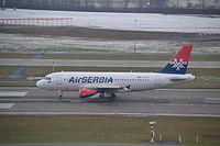 YU-APF - A319 - AirSERBIA