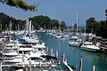 Yachts Park in Chicago River - panoramio.jpg