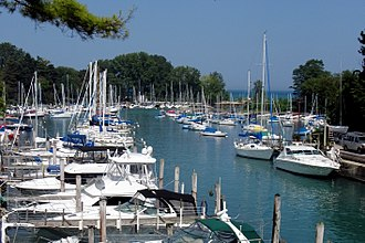 Wilmette, Illinois - Wilmette Harbor