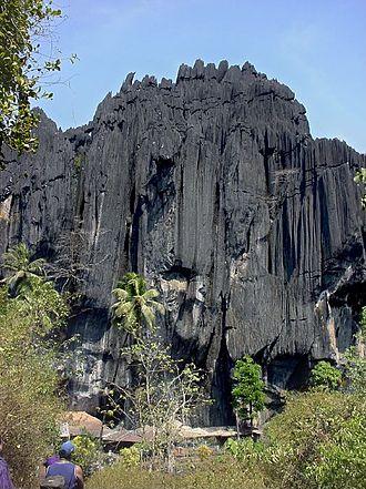 Yana, India - Yana Rocks near Yana Village