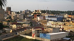 Skyline of Yaoundé