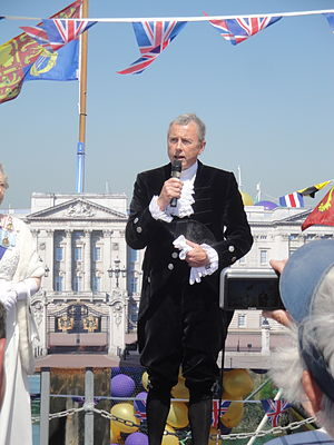 Court uniform and dress in the United Kingdom - A high sheriff in 2012 wearing court dress