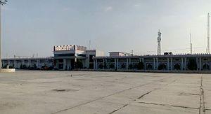 Guntakal railway division - Long view of Yerraguntla Junction Station Building