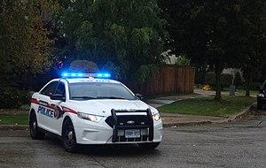 York Regional Police - York Regional Police Ford Taurus cruiser