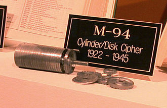M-94 - The M-94 at the National Cryptologic Museum