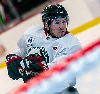 Zach Parise American ice hockey player