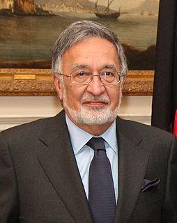 Zalmai Rassoul Afghan politician