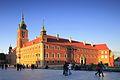 Zamek Królewski w Warszawie, widok z Placu Zamkowego.jpg