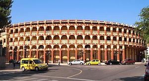Plaza de Toros de Zaragoza - Image: Zaragoza Plaza de Toros