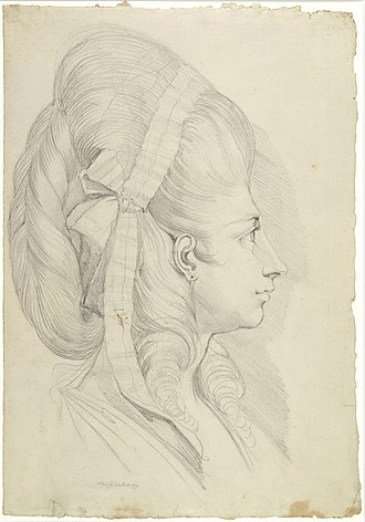 Henry Fuseli - Image: Zentralbibliothek Zürich Portät von Anna Magdalena Schweizer geb Hess im Alter von 27 Jahren 000003019