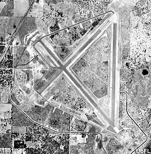 Zephyrhills Army Air Field - Zephyrhills Army Airfield - 1951
